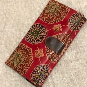 Handbags - Tooled Leather Wallet